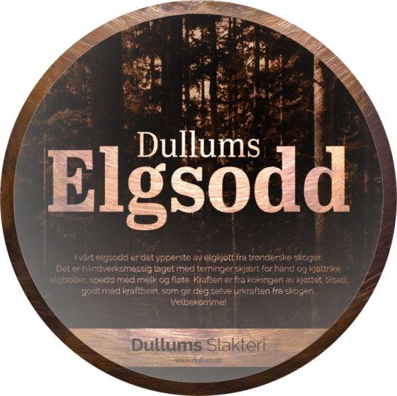 Elgsodd fra Dullum Slakteri