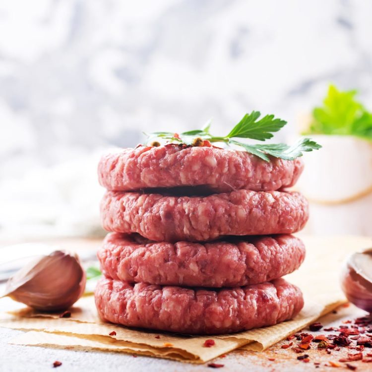 Hamburgere fra Dullum Slakteri